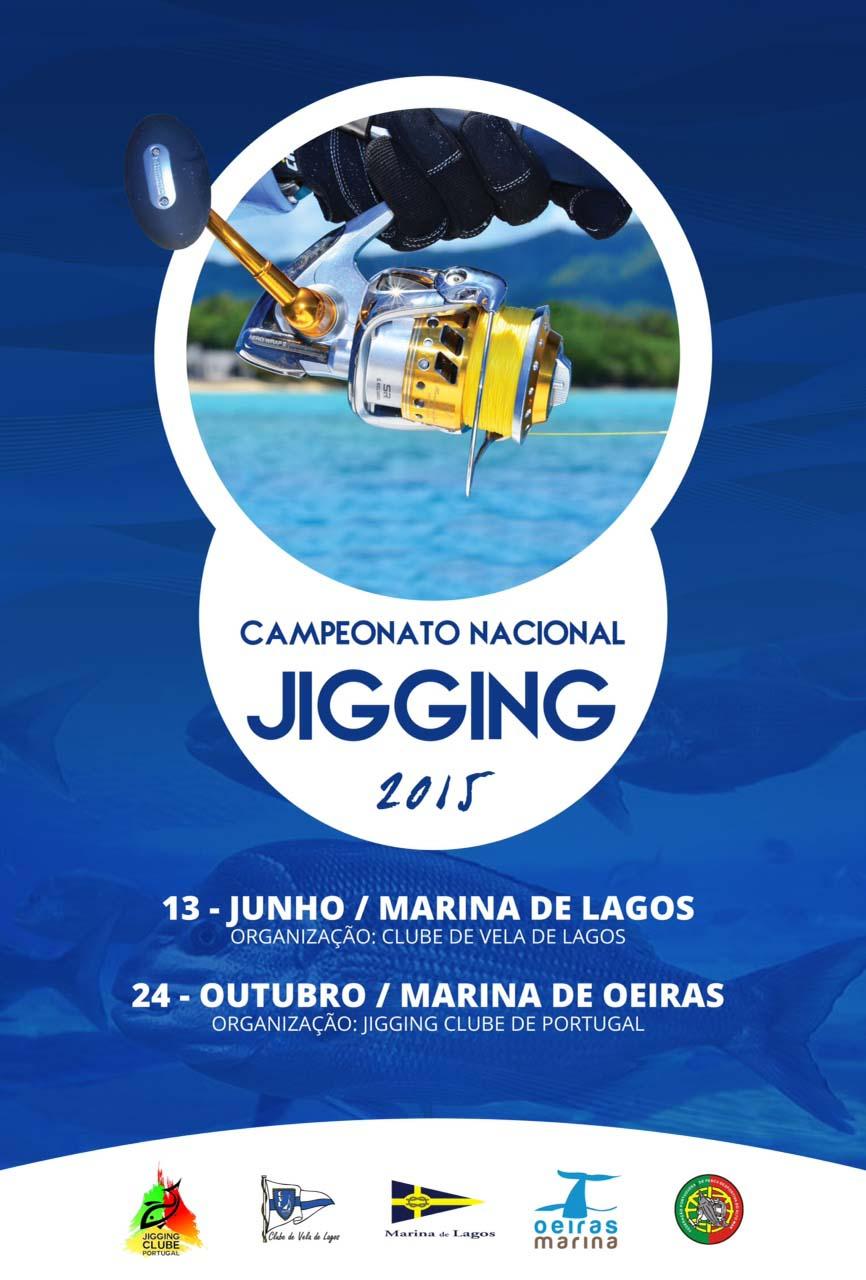 Cartaz Campeonato de  Jigging 2015